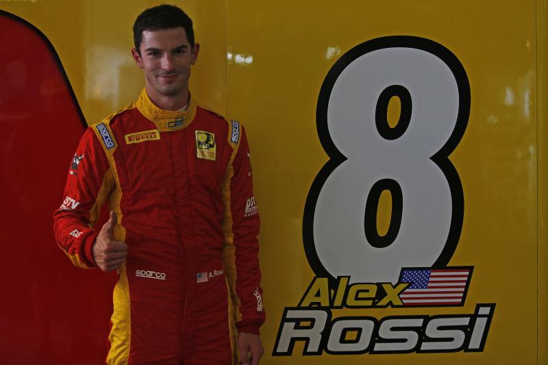 2015 GP2 Series Round 3 - Monte Carlo, Monaco. Thursday 21 May 2015. Alexander Rossi (USA, Racing Engineering) Photo: Sam Bloxham/GP2 Series Media Service. ref: Digital Image _SBL9749