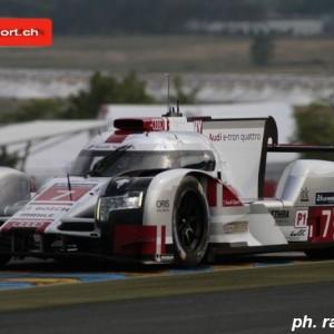 Marcel Fässler schafft es in Le Mans  erneut  aufs Podest