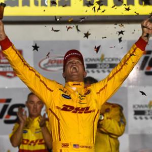 Indycar in Iowa: Hunter-Reay è tornato