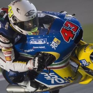 Moto3 - Qualifiche in salita per il 3570 Team Italia a Losail