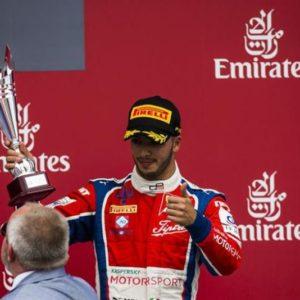 A Silverstone GP3 Series con Antonio Fuoco