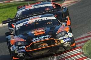 Solaris Motorsport al via dell'International GT Open con Francesco Sini e Mauro Calamia su Aston Martin Vantage GT3
