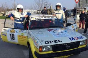 Rally Storico di Adria: Sarto e Mancini (Opel Kadett) pronti al ritorno