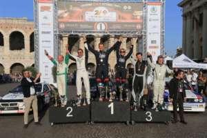 """""""Lucky"""" e Fabrizia Pons dominano il Rally Due Valli Historic"""