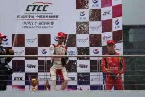 Prima epica vittoria di Alex Fontana nel CTCC a Ningbo