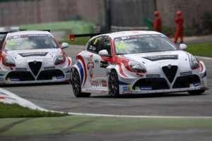 Test a Monza per le Alfa Romeo Giulietta TCR by Romeo Ferraris