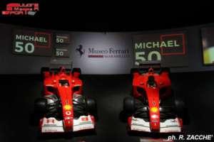 Museo Ferrari la mostra dedicata ai 50 anni di Schumacher gallery
