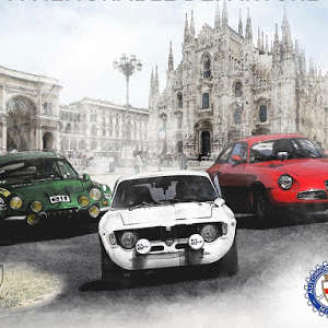 Dal centro di Milano una partenza indimenticabile per il Rallye Monte-Carlo Historique. Con il Tributo per il 115° dell'A.C. Milano