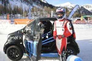 Al via i test invernali su neve e ghiaccio Le pepate smart testate dai campioni del Trofeo Andros