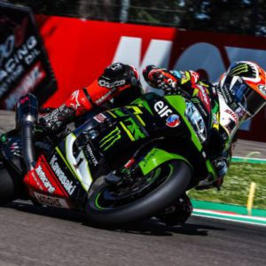 Reigning World Champion Rea on top again with Davies and Sykes close behind