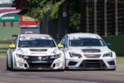 Nardilli show a Imola con la Honda TCR di MM Motorsport