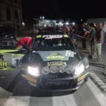 GRAVANTE AL RALLY DI PICO CON I COLORI DELL'ERREFFE RALLY TEAM-BARDAHL