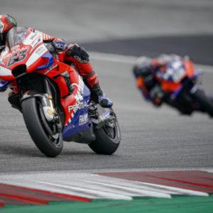 AustrianGP RACE. Pecco chiude 7° la sua miglior gara della stagione. Jack lotta per il podio fino al 7° giro