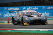 Aston Martin Vantage DTM in home debut at Brands Hatch