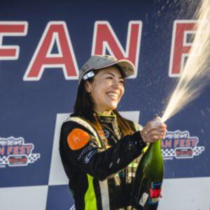 Una prima nella storia della Euro NASCAR: Manami Kobayashi vince al debutto in ELITE Club
