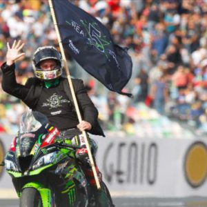 Rea wins to clinch a historic fifth consecutive WorldSBK title at Magny-Cours!
