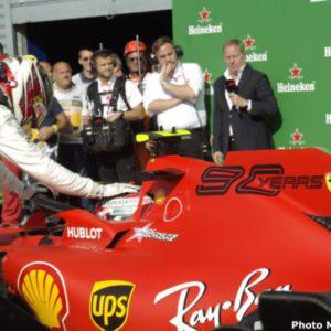 Il sogno perfetto di Monza: pole Ferrari, una sola sbavatura,200.000 abbracci