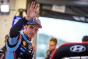 THIERRY NEUVILLE E LA HYUNDAI i20 COUPE' WRC IN GARA A RALLYLEGEND!
