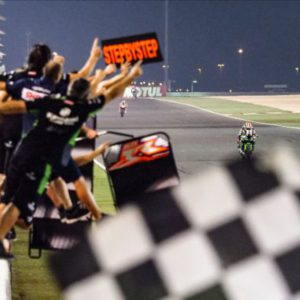 Rea victorious in Race 1 ahead of Davies and Lowes