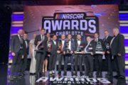 Una notte speciale ai NASCAR Awards per la delegazione della Euro NASCAR