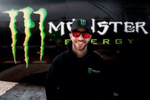 Alon Day con PK Carsport e il supporto di Monster Energy