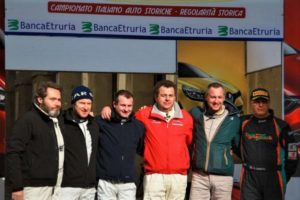 Il Memorial Giulio Oberti all'Historic Rally Vallate Aretine