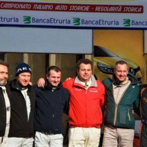 Il Memorial Giulio Oberti all'Historic Rally Vallate Aretine