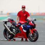 Dominique Aegerter als offizieller Honda-Superbike-Testfahrer vorgestellt