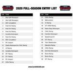 33 iscrizioni full-time per la stagione 2020 della NASCAR Whelen Euro Series