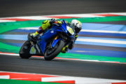 MOTO IN PISTA A MISANO WORLD CIRCUIT