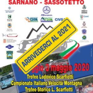 APPUNTAMENTO AL 2021 PER LA SARNANO-SASSOTETTO / TROFEO SCARFIOTTI