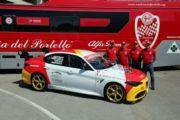 Alfa Romeo Giulia Quadrifoglio al debutto in pista