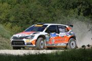 """Francesco Fanari ritrova il sorriso sul """"Tetto delle Marche"""":  al Rally Adriatico settimo assoluto e secondo """"Raceday"""""""