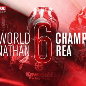 Jonathan Rea crowned 2020 WorldSBK Champion