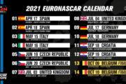 Rivelato il calendario 2021 della NWES: il meglio della NASCAR sui circuiti europei!