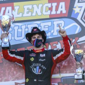Vittorio Ghirelli si incorona campione della EuroNASCAR 2 con uno straordinario finale di stagione