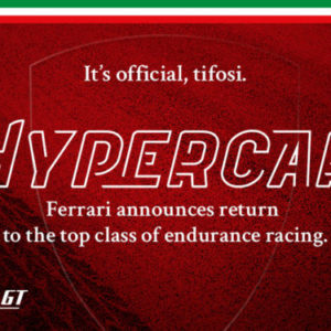 Ferrari commits to FIA WEC with new Hypercar