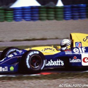 Williams FW14, vincente con la Renault