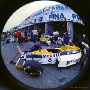 Williams FW11 mondiale nel 1986