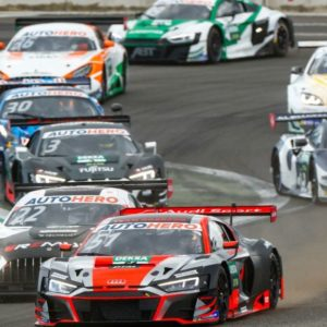 An open battle at the end of DTM testing: Lawson misses out on Götz's fastest time by a whisker