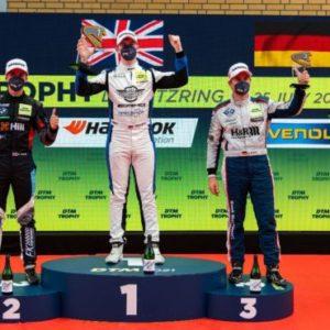 DTM Trophy: Brit William Tregurtha man of the moment