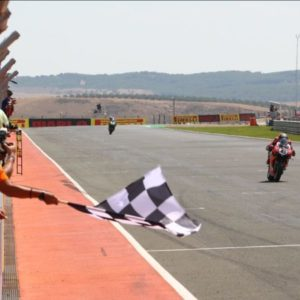 First Navarra victory: Redding claims Race 1 honours at Navarra