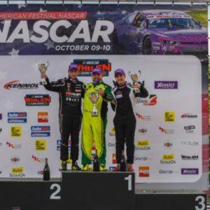 Federico Monti mette fine alla serie di vittorie di Gordon Barnes al Circuit Zolder